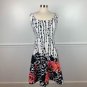 Jones Wear Dress | fit and flare floral dress